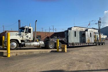 Mayer Pollock Roll Off Truck